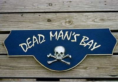 Pirate Themed Bar Sign